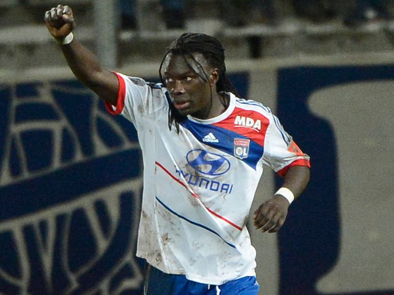 Bafetimbi Gomis: Linked with a move to Liverpool and Chelsea