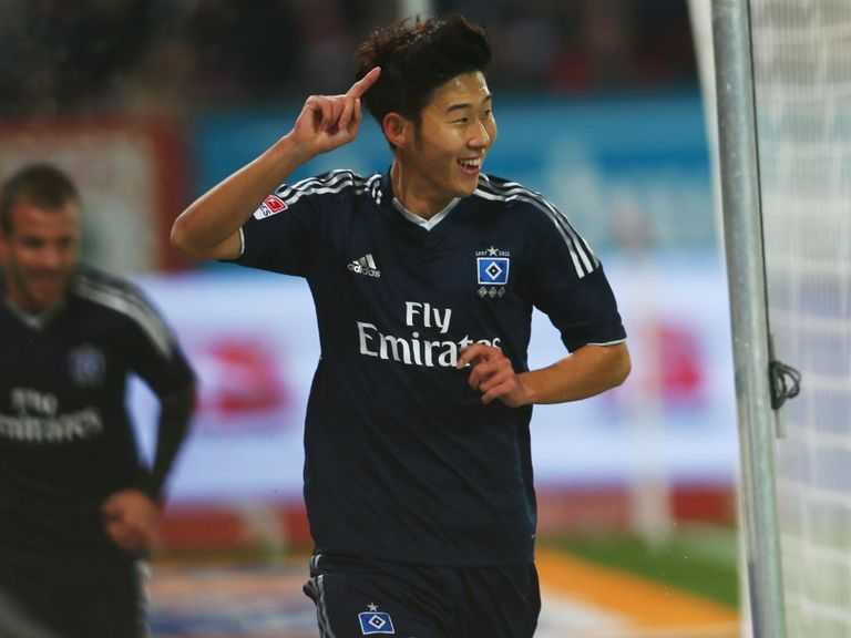 Heung-Min Son: Has impressed for Hamburg