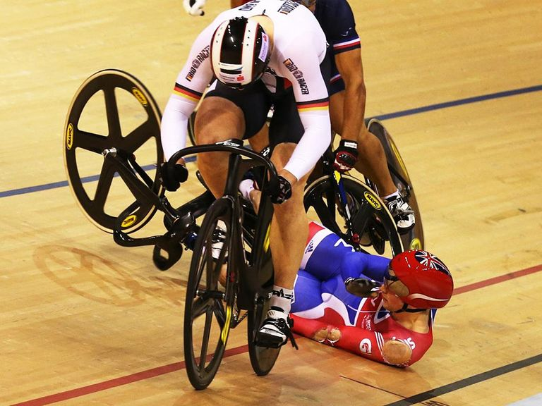 Jason Kenny: Suffered high-speed crash