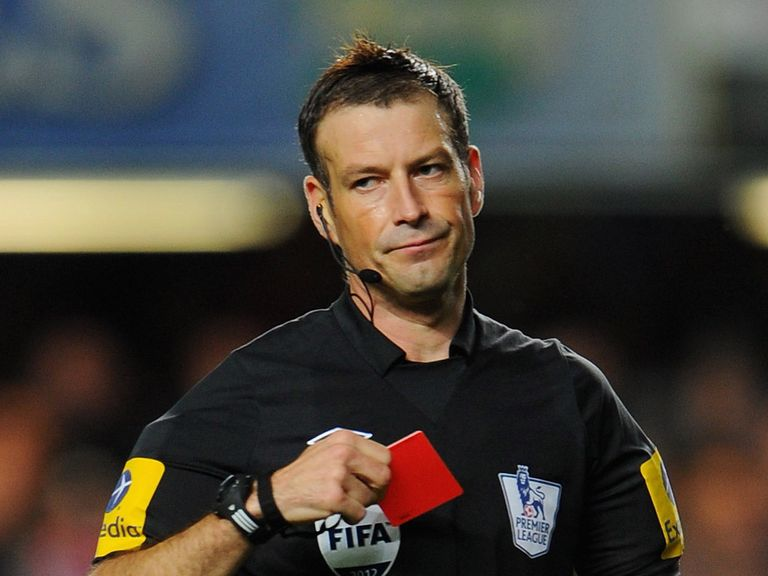 Mark Clattenburg: Welcome back at Stamford Bridge