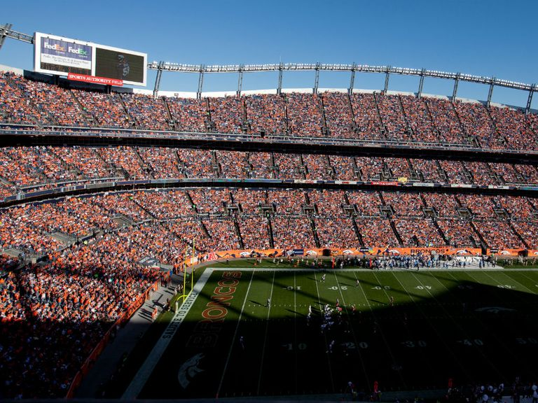 Mile High Stadium: Venue for Super Bowl bid