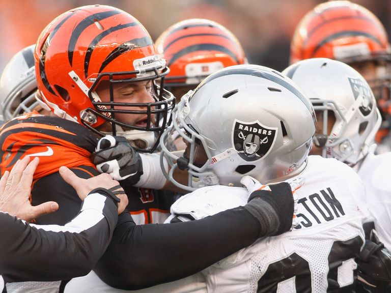 Tempers fray at the Paul Brown Stadium