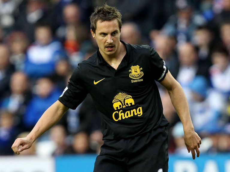 Phil Jagielka: England defender content at Everton