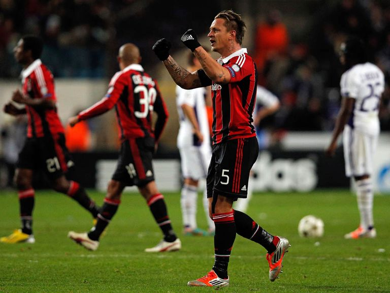 Mexes: Misses games against Udinese, Parma, Lazio and Fiorentina