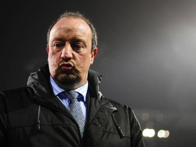Rafael Benitez: Appointed interim Chelsea manager