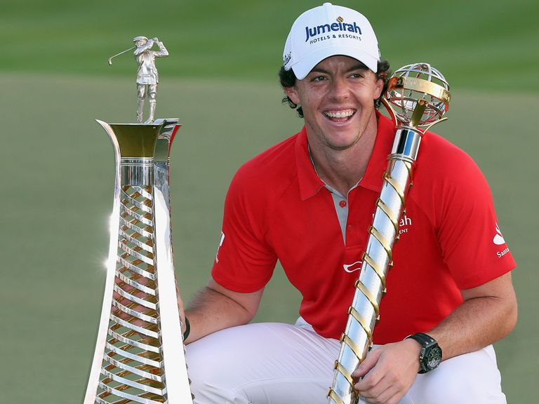 McIlroy: Golfer of the year in Europe