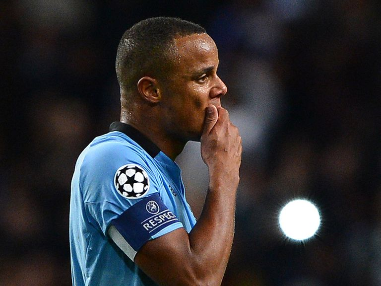 Vincent Kompany: Could return for Man City