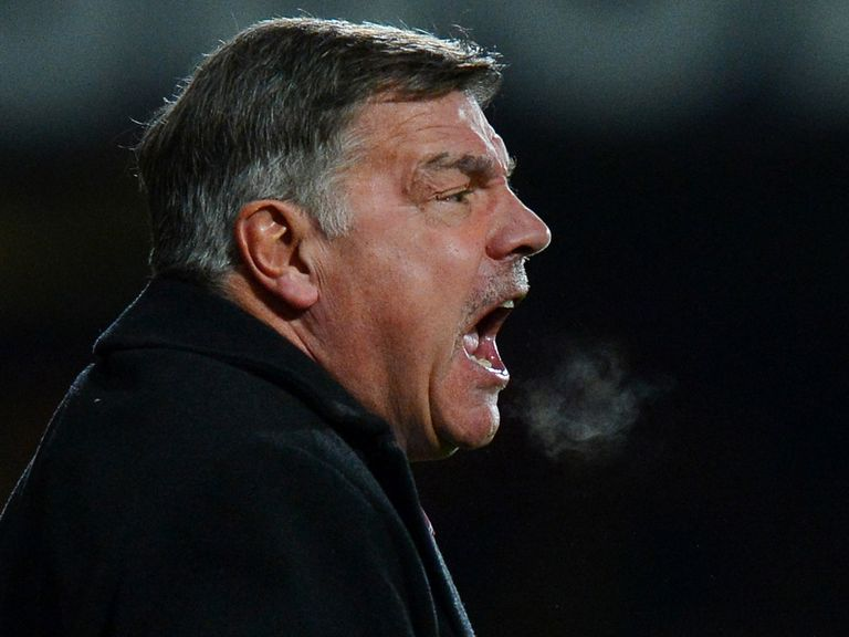 Sam Allardyce: Geared up for Old Trafford clash