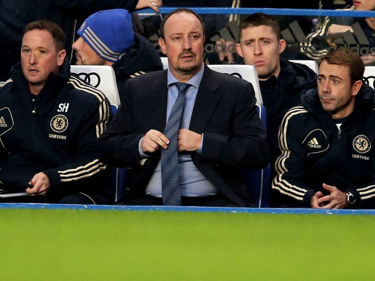 Rafael Benitez's Chelsea face Fulham