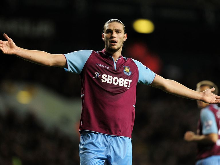 Carroll: Twisted his knee in the defeat at Old Trafford
