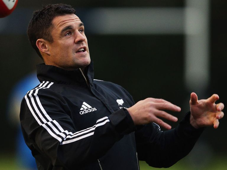 Dan Carter: Injured in training on Thursday