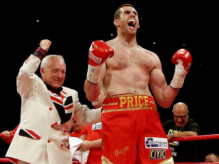 Maloney remains keen for Price to take on Fury.