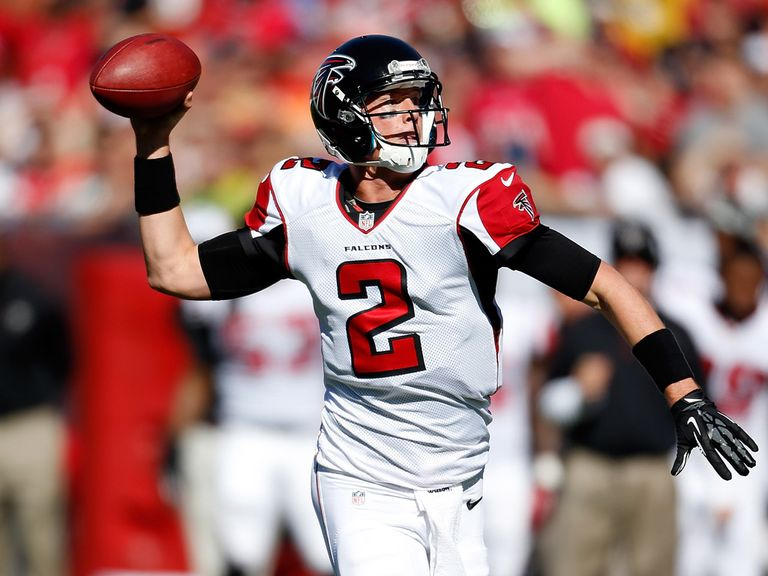 Matt Ryan: Threw for 353 yards
