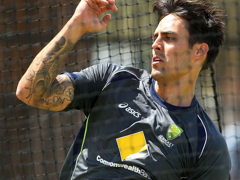 Mitchell Johnson: Makes way in Hobart