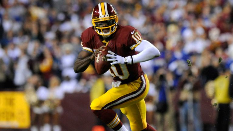 Robert Griffin III: Tore a cruciate ligament in play-off defeat to Seahawks
