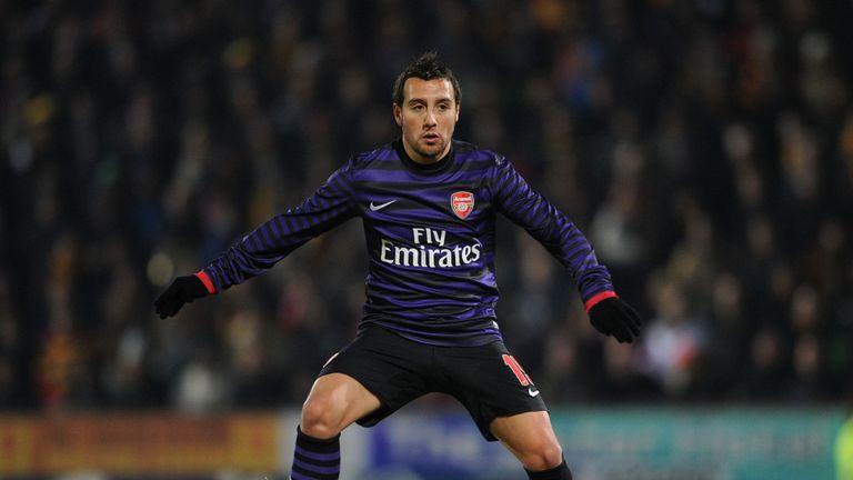 Santi Cazorla: Enjoying life at Arsenal