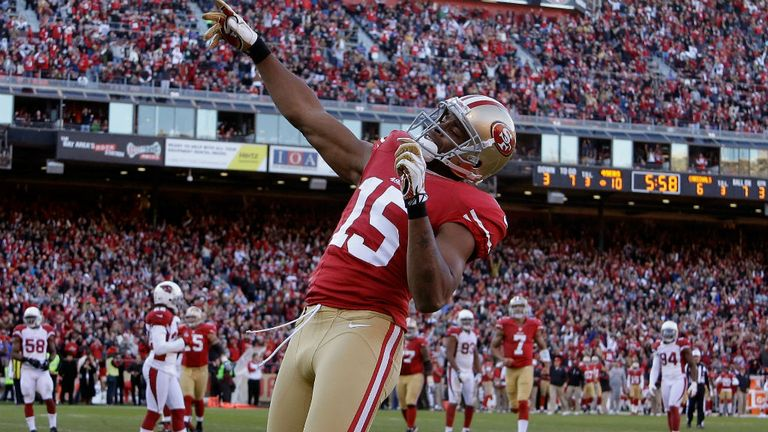 Michael Crabtree: Career day for the 49ers