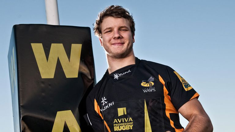 Joe Launchbury: Named Aviva Premiership Rugby Player of the Month for November