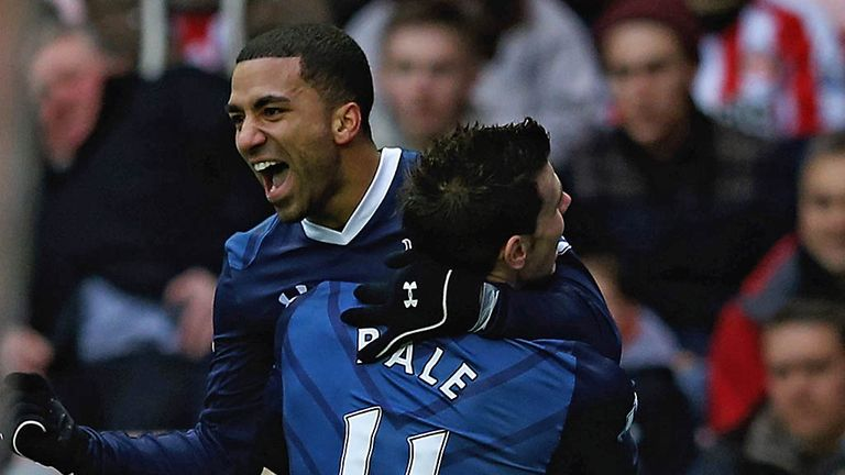 Aaron Lennon: Created seven out of 10 Tottenham chances against Manchester United