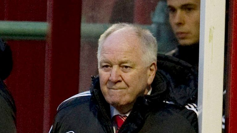 Craig Brown: Pleased with youngsters after 2-2 draw with Dundee Utd