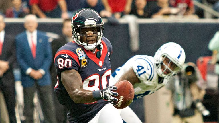 Andre Johnson: had 151 yards receiving and a touchdown for the Texans