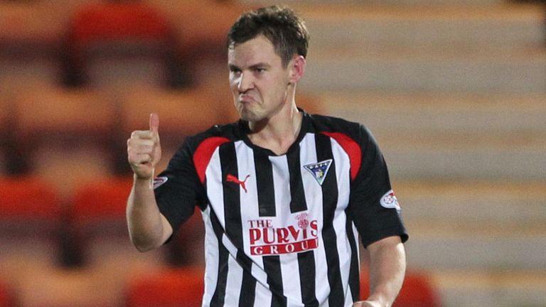 Andy Barrowman: Scored Dunfermline's winner
