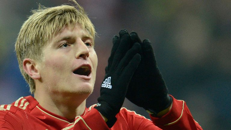 Toni Kroos: Shows his frustration in Bayern draw
