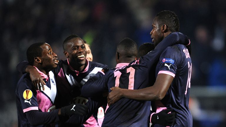 Cheick Diabate: Enjoyed an eventful evening as Bordeaux tasted cup joy