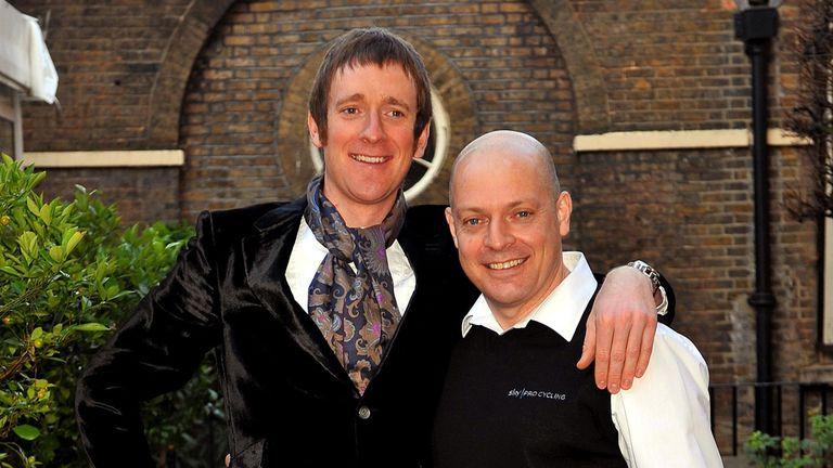 Arise Sir Bradley and Sir Dave