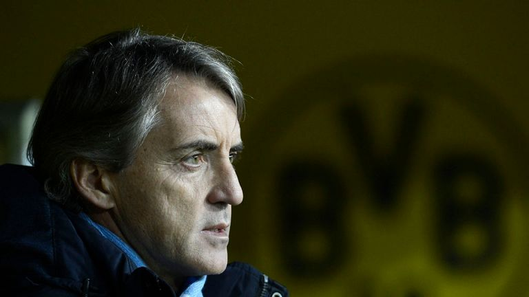 Roberto Mancini: Staying upbeat ahead of Sunday's city showdown