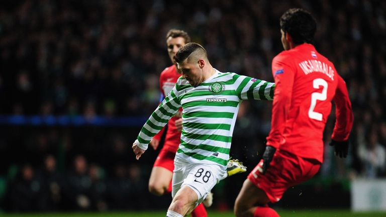 Hooper: in fine form for Celtic