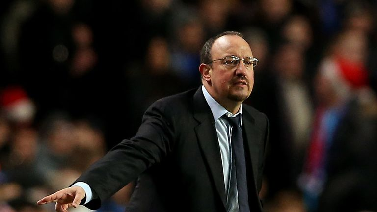 Rafael Benitez: Interim manager is confident that Chelsea can still win the Premier League title