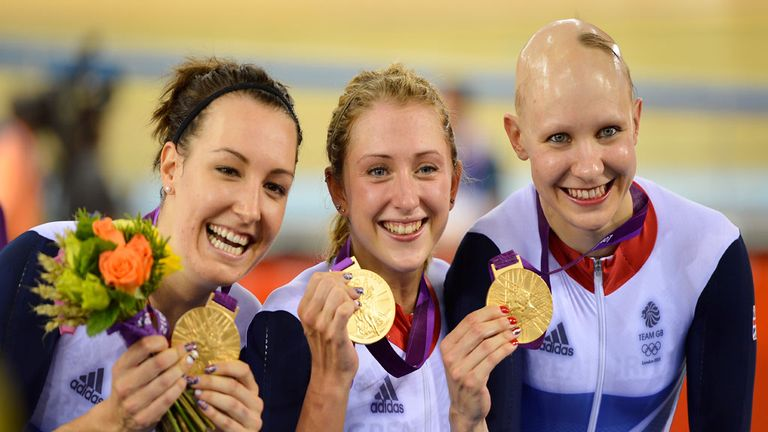 Dani King, Laura Trott and Joanna Roswell: Olympic team confirm new joint title sponsor