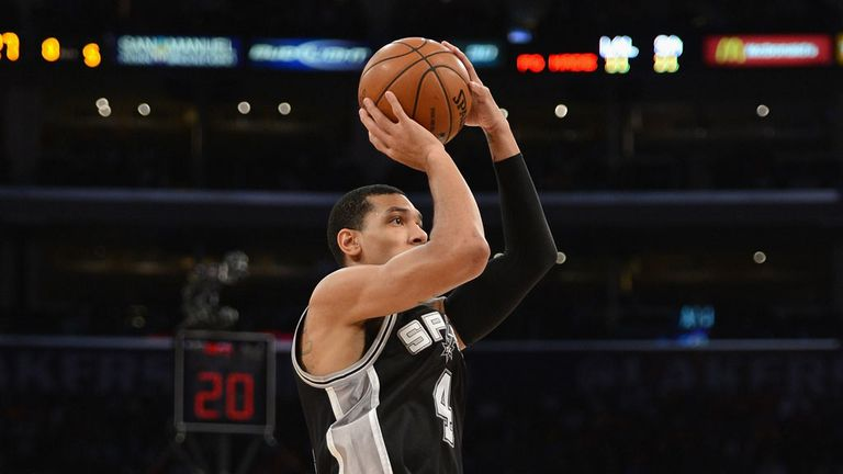 Danny Green: Scored 23 points in San Antonio's 132-102 win over Charlotte
