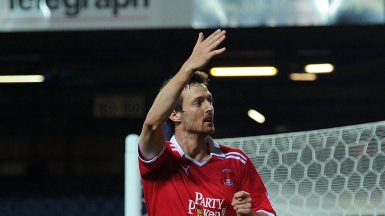 David Mooney: Netted a brace for Orient
