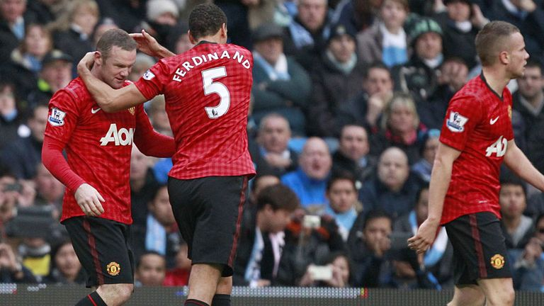 United enjoyed a late derby victory over City on Sunday
