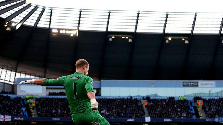 Joe Hart: Will wear new Manchester City kit by Nike next season