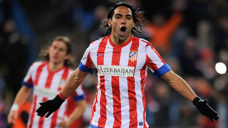 Falcao: Among the goals again as he earned Atletico Madrid three points