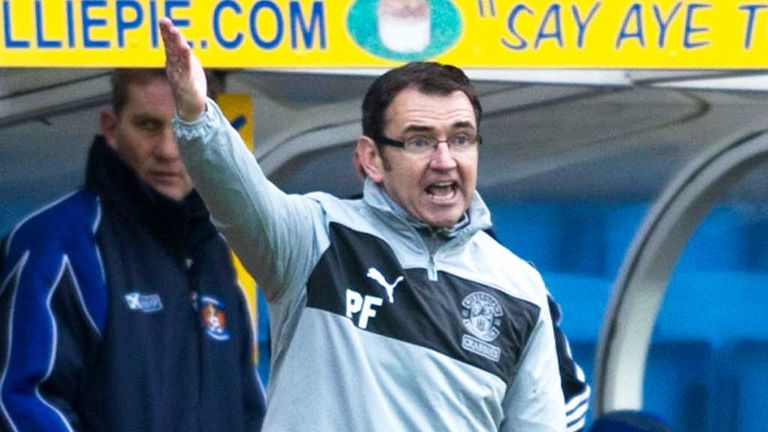 Pat Fenlon: Takes decision in his stride