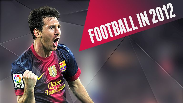 2012 proved to be quite the year for football as Lionel Messi stole many of its headlines