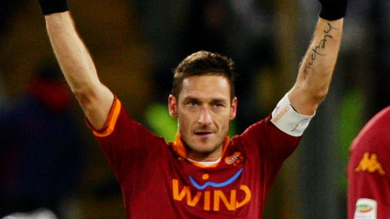 Francesco Totti: Cherish him while you can