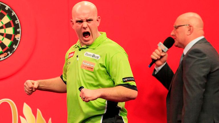 Michael van Gerwen: Thinks Phil Taylor can be beaten at PDC World Championship