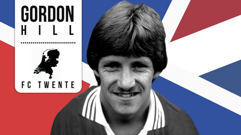 Former Manchester United winger Gordon Hill enjoyed spells in the United States and Holland