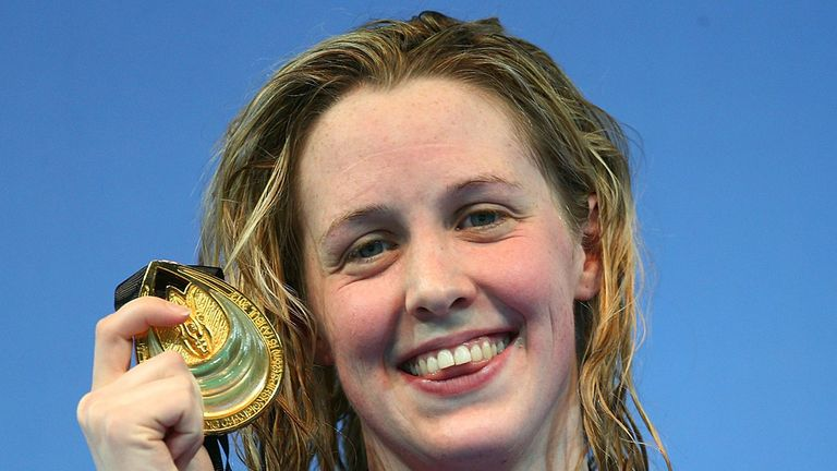 Hannah Miley: With her gold medal in Istanbul