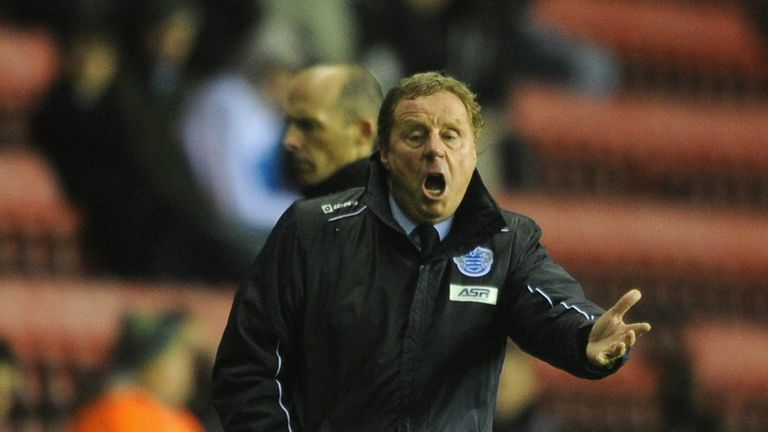 Harry Redknapp: Pleading for a big effort from winless QPR on Saturday