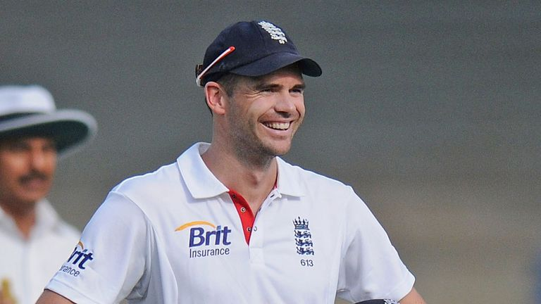 Jimmy Anderson will get a well-earned break in the New Year
