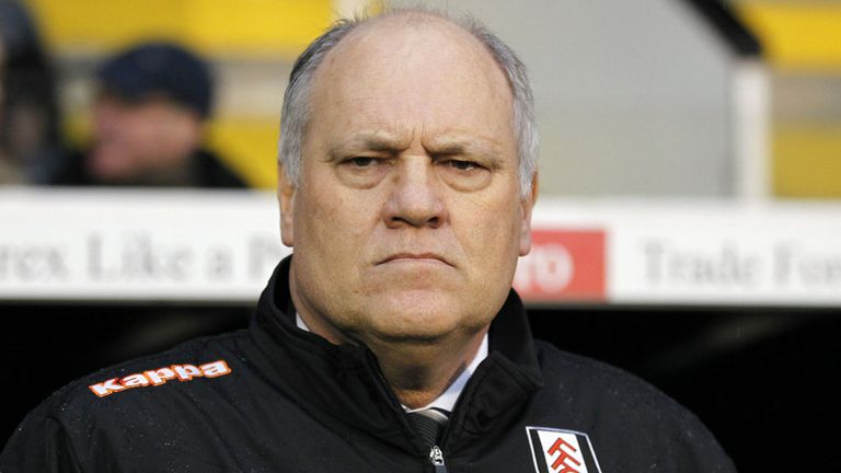 Martin Jol: His Fulham side have won just one game in 12