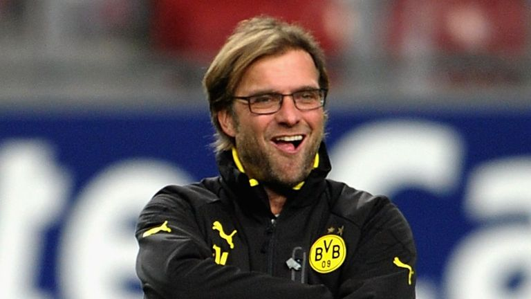 Jurgen Klopp: Has guided Borussia Dortmund into the last eight of the UEFA Champions League