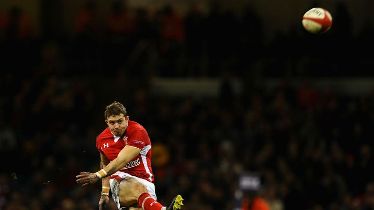 Leigh Halfpenny: Is pushing hard for the No 15 jersey