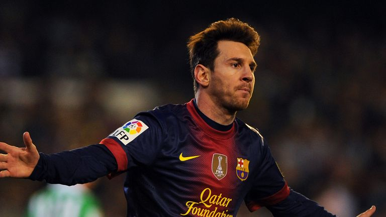 Lionel Messi: Now committed to Barcelona beyond his 31st birthday
